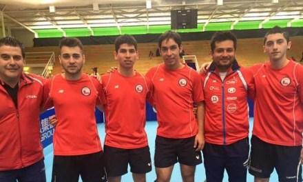 Chile se coronó campeón en torneo sudamericano de tenis de mesa