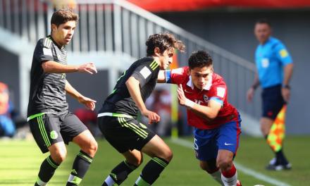Chile no pudo ante México y quedó eliminado del Mundial Sub 17