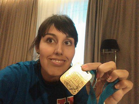 Nadadora chilena Bárbara Hernández cosechó dos medallas de oro en Mundial de Rusia