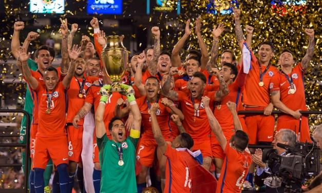 Para la historia: Los 100 años de la Copa América se festejaron con título de Chile