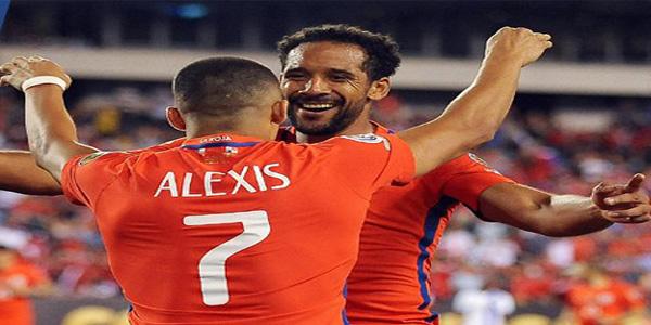 Chile se afirma, golea y clasifica a los cuartos de final de la Copa América Centenario