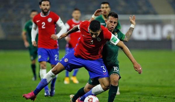 #VamosChile: La mala suerte a veces existe, y hoy le tocó a Chile empatando de local ante Bolivia