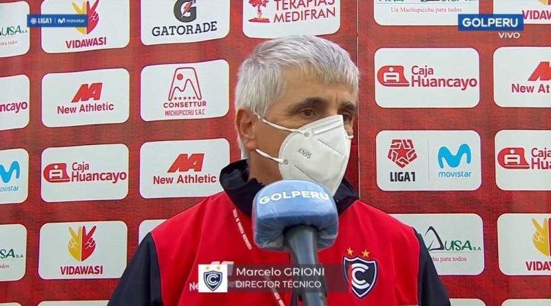 """Marcelo Grioni: """"Es bueno recalcar lo de Damián Ísmodes. Le pedí a los dirigentes que lo contraten porque sabía lo que podía dar con una buena pretemporada y no me equivoqué"""""""