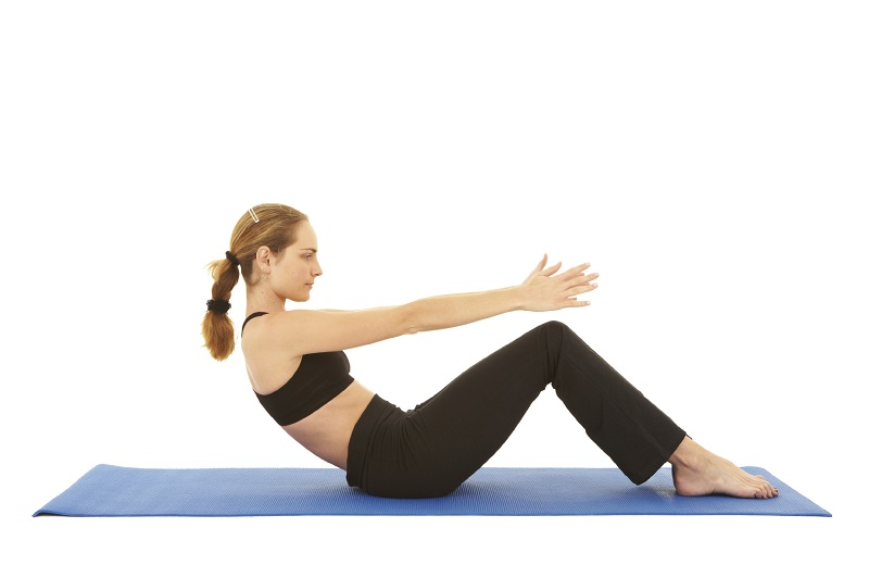 abdominales sit up