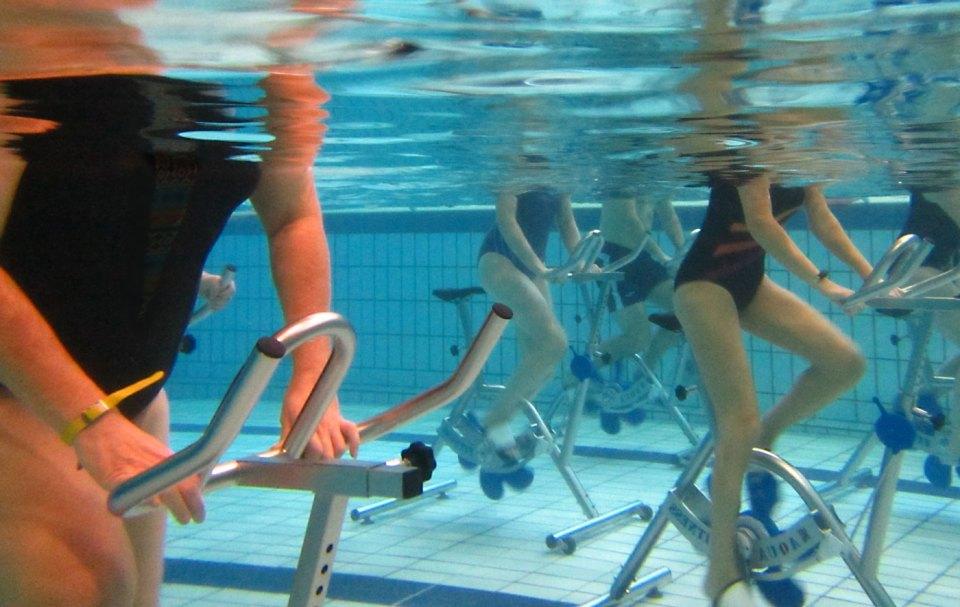 spinning en el agua