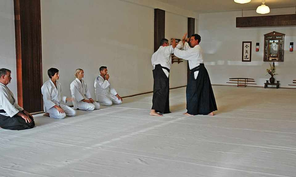 Hacer aikido