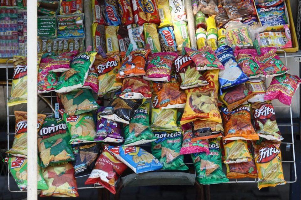 Muchos snacks contienen glifosato