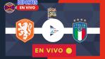 AQUI EN VIVO Italia vs Holanda EN DIRECTO: Horario y dónde ver hoy en vivo por TV el partido de la jornada 4 de la Nations League