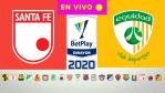 LIGA BETPLAY EN VIVO    Independiente Santa Fe vs La Equidad por la Liga Betplay 2020
