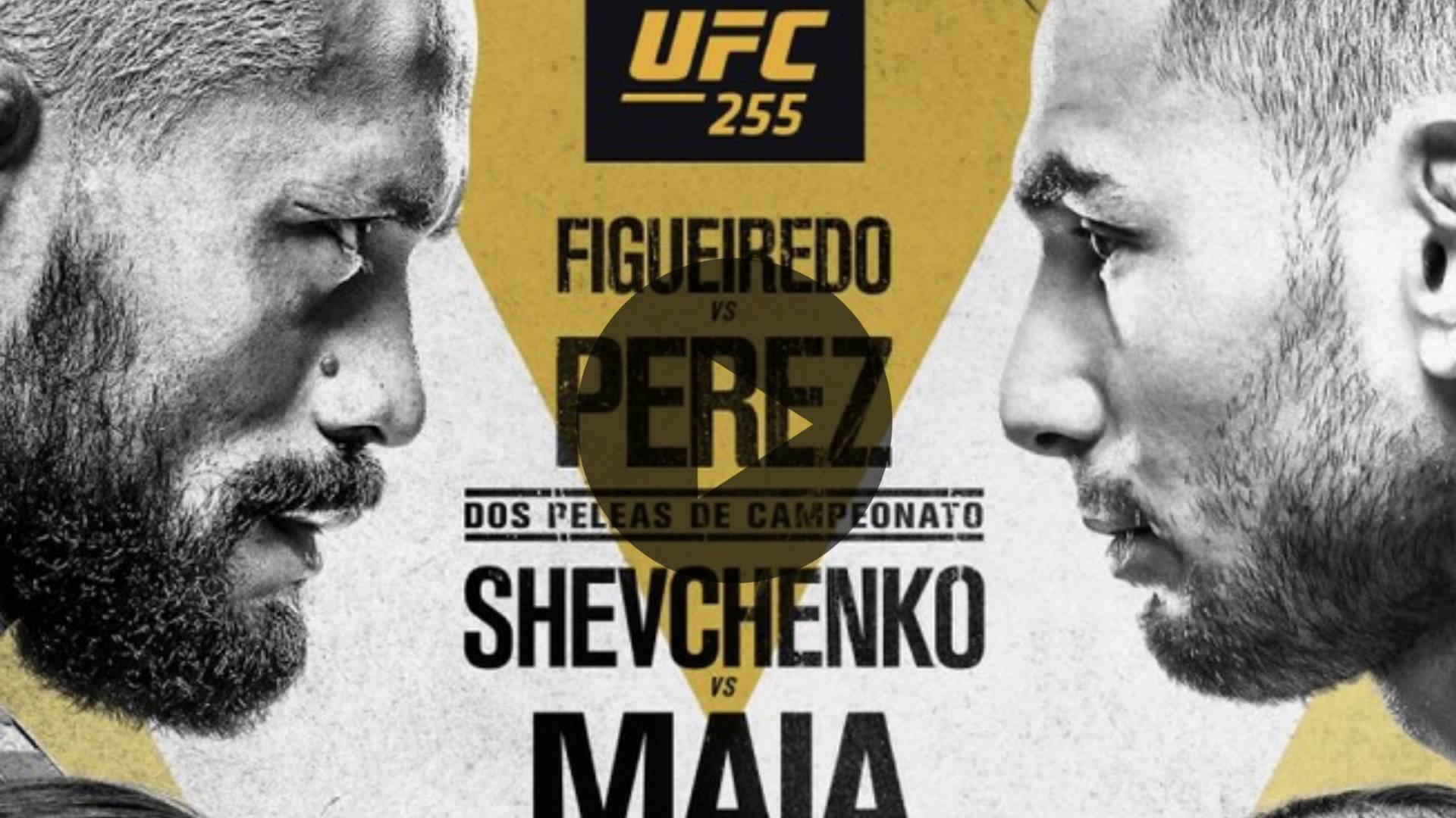 UFC 255 EN VIVO: Figueiredo vs Pérez y Shevchenko vs Maia, horarios y COMO VER EN TV GRATIS