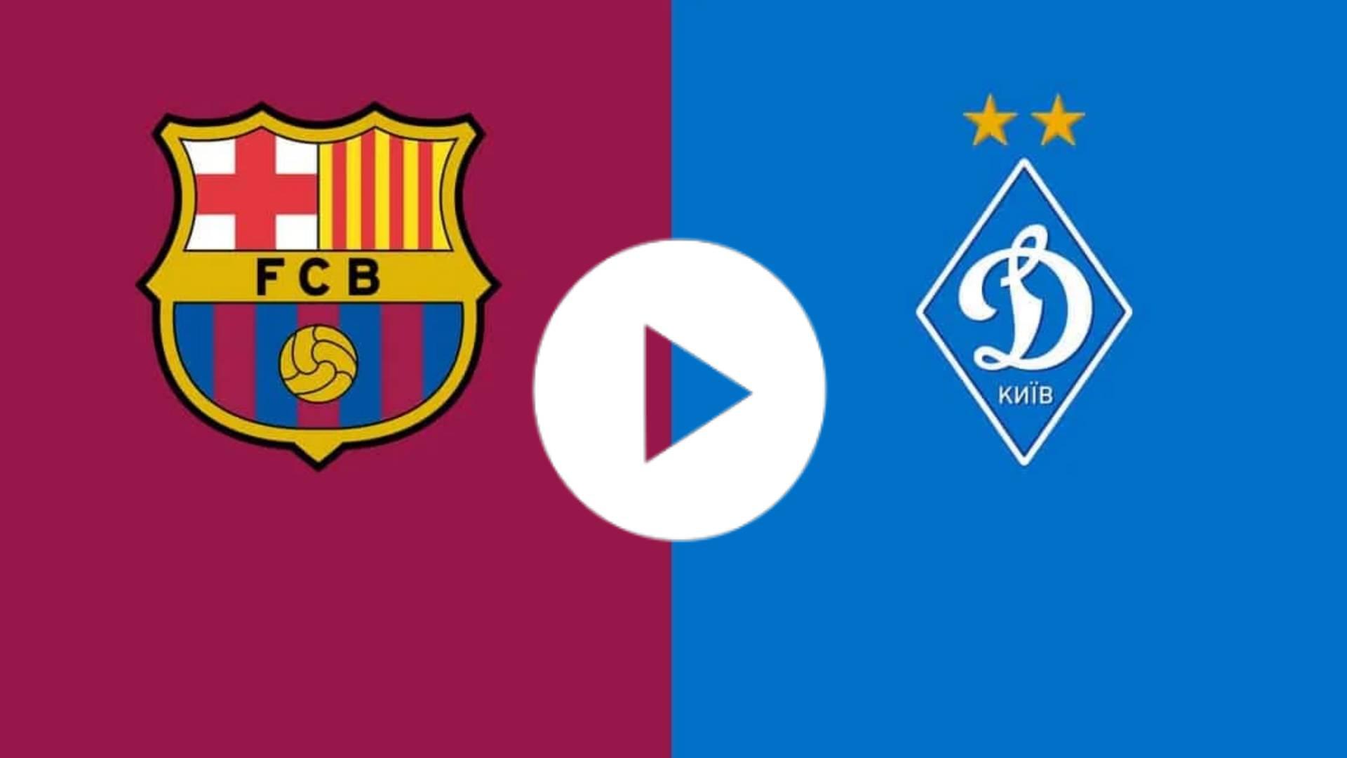 EN VIVO CHAMPIONS LEAGUE: Barcelona vs Dynamo Kiev: Transmisión en vivo de la Liga de Campeones de la UEFA, cómo ver en la TV, probabilidades, tiempo