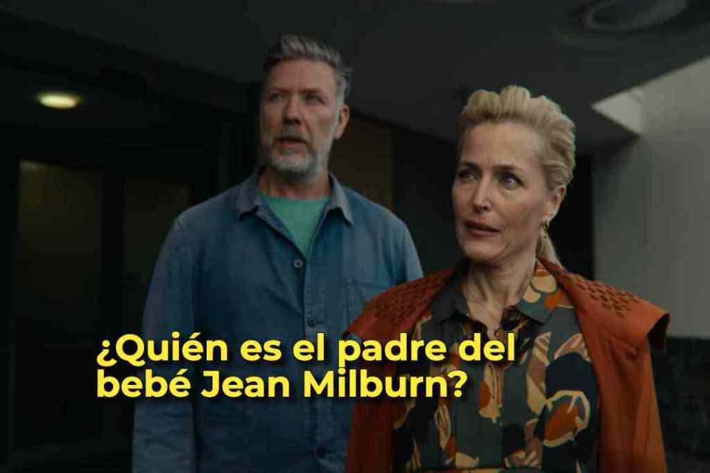 ¿Quién es el padre del bebé Jean Milburn?