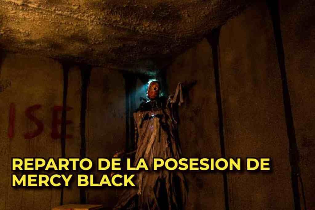 REPARTO DE LA POSESION DE MERCY BLACK