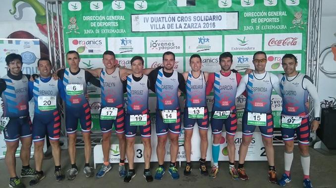 Duatlón La Zarza Campeonato de Extremadura de Duatlón Cross