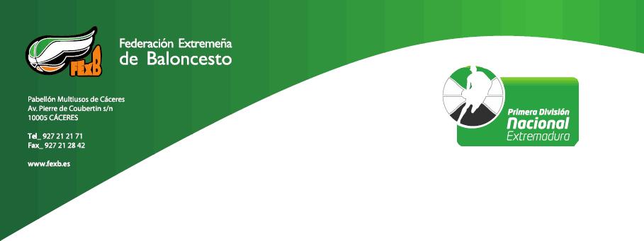 Federación Extremeña de Baloncesto - FExB