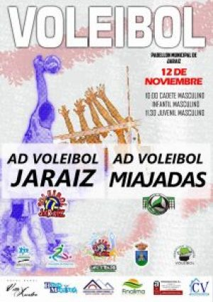Calendario de competición del ADV JARAÍZ para este fin de semana