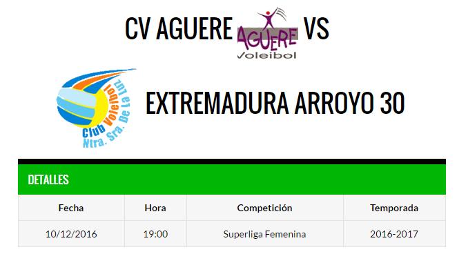 Aguere Tenerife - Extremadura Arroyo 30