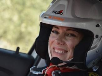 Al habla con María del Mar Espinar una copiloto en el nacional de asfalto