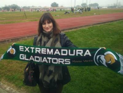Raquel Medina, alcaldesa de Navalmoral de la Mata