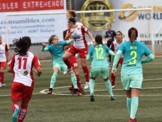 Las ganas del Santa Teresa pueden con el FC Barcelona