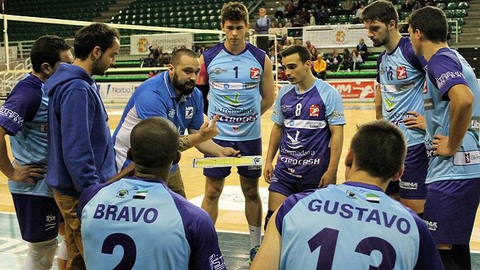 Lesionados Hugo Bravo y Bruno Rubbo del Electrocash Extremadura
