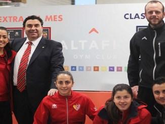 Altafit Badajoz se vincula al Santa Teresa CD con su apoyo al deporte local