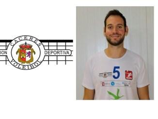 Entrevista a Roberto Ortiz jugador del Electrocash Extremadura de Voleibol