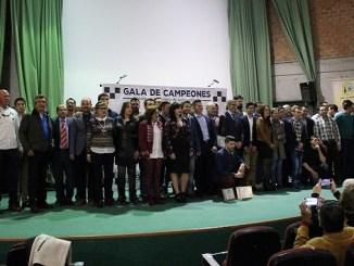 Los deportistas protagonistas de la Gala de Campeones FEXA de 2016