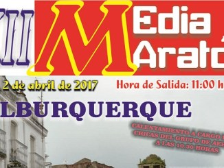 XII Media Maratón Alburquerque 2017