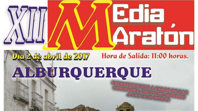 XII Media Maratón Alburquerque 2017