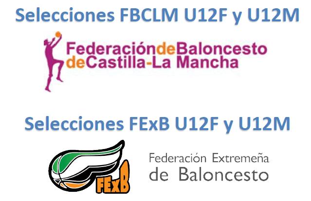 Jornada de partidos amistosos de las Selecciones Extremeñas de Minibasket