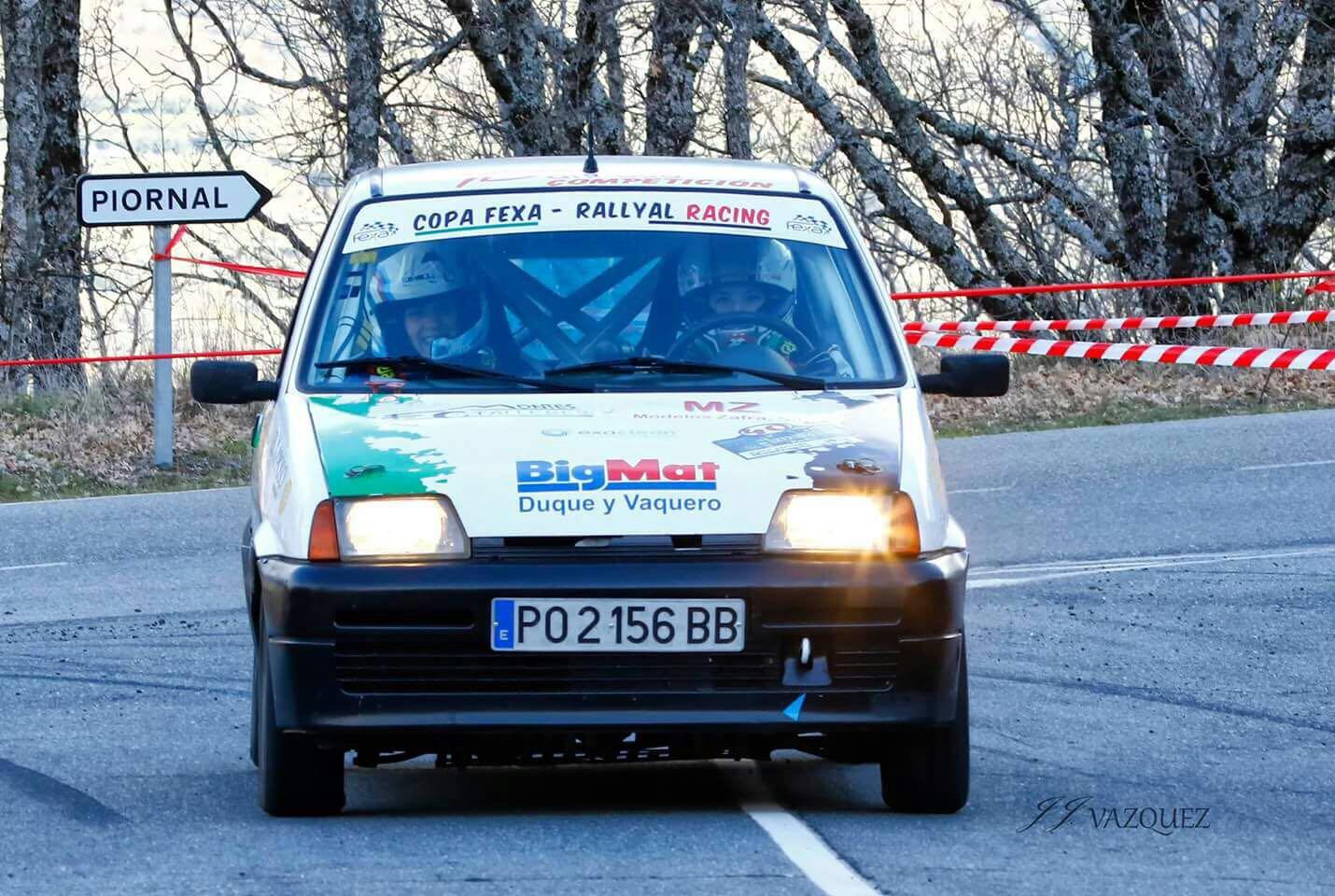 Ainoa de la Osa y Mari Márquez - Cara y cruz para el Extremadura Rallye Team