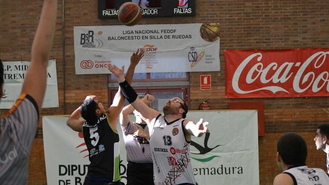 El Mideba Extremadura no puede ante Bidaideak Bilbao