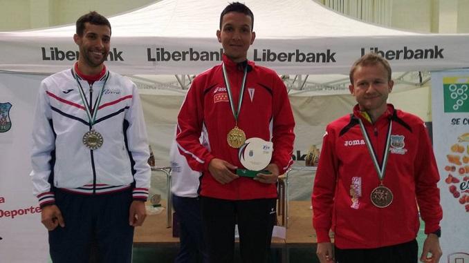 Juan Luis González Subcampeón de Extremadura de Media Maratón