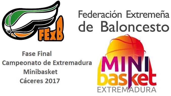 Fase Final Campeonato de Extremadura Minibasket