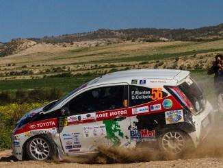 Montes y Collado colíderes de la Copa Kobe tras el III Rally Circuito de Navarra