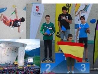 Alberto Ginés vuelve a brillar en la Copa de Europa de Dificultad en Imst (Austria) consiguiendo un Oro