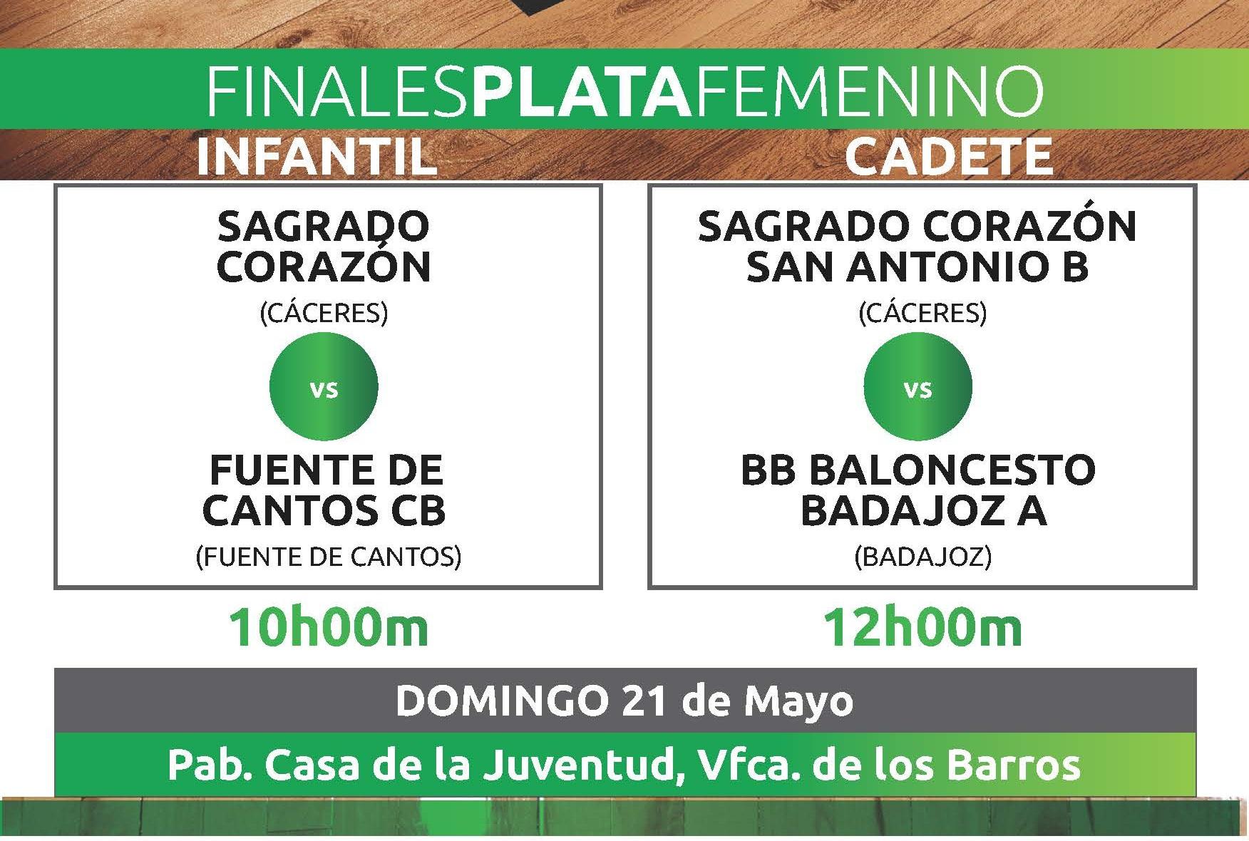 Finales Judex Baloncesto Plata Femenina