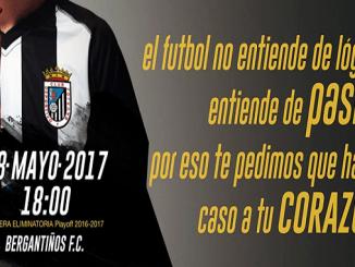 Horario, precios y puntos de venta de entradas playoff Bergantiños FC