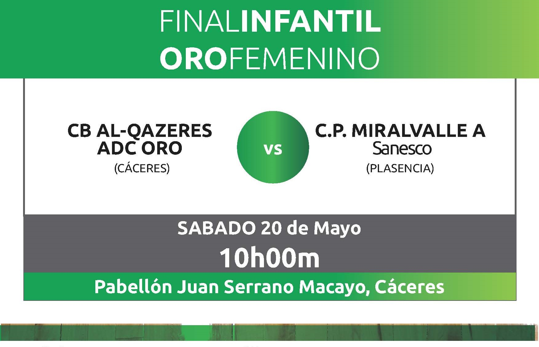 Finales Judex Baloncesto Infantil Oro Femenina