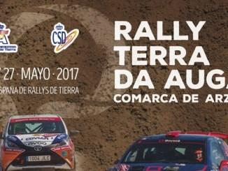 Montes y Collado listos para mantener el liderato en Rally Terra da Auga