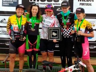 La gallega Susana Alonso logra otro podio internacional para el Extremadura-Ecopilas en Meda (Portugal), prueba del calendario mundial UCI Marathon Series