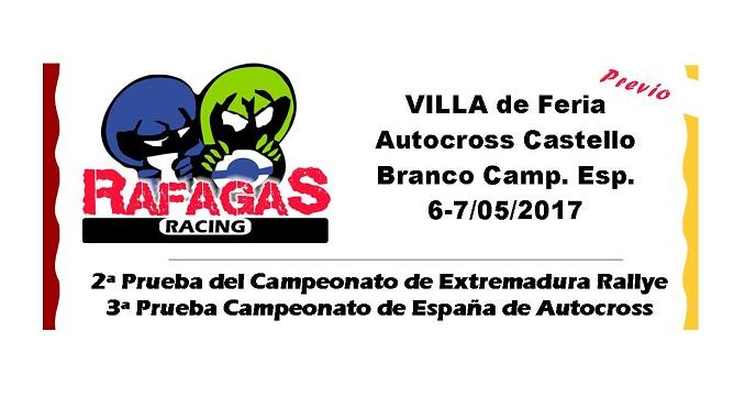 Escudería Ráfagas Racing XV Rallye Villa de Feria y Autocross Castelo Branco Portugal