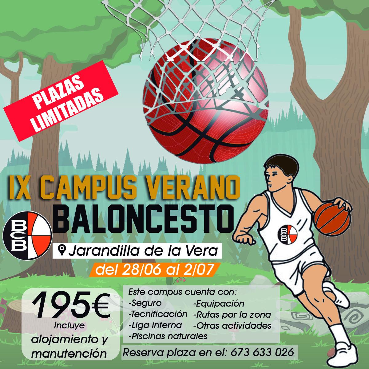 Campus de baloncesto BCB de verano