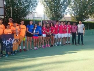 El C.T. Cabezarrubia doble campeón de Extremadura Cadete por equipos
