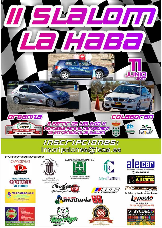 El domingo se celebra el II Slalom La Haba