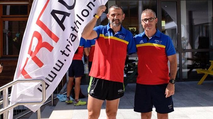 Toni Franco y Kini Carrasco participaran este viernes en elETU Triathlon European Championships2017 en Kitzbühel