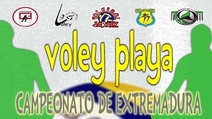 Voley Playa – Campeonato de Extremadura – Jaraíz de la Vera
