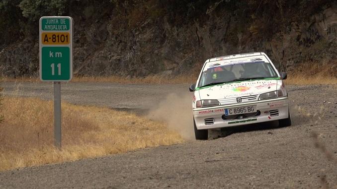 Montes y Collado destacaron en el V Rallye Sliks Sevilla