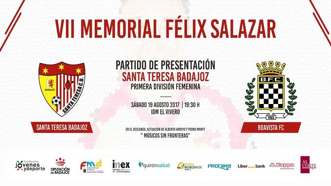 2017 memorial felix salazar - El Santa Teresa Badajoz afronta su fiesta de presentación este sábado